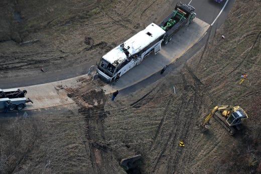 Arkansas bus crash: Watch live update on victims
