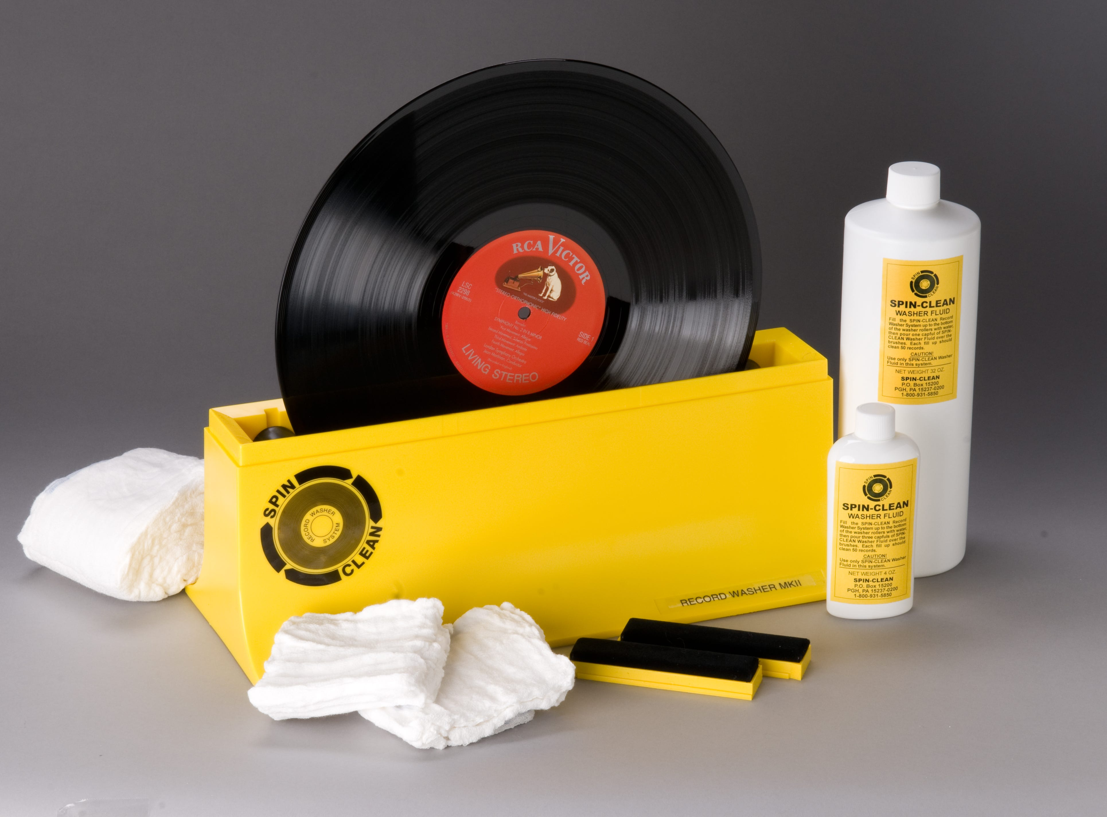 Spin-Clean Record Washer, $79.99. For deep cleaning your LPs.