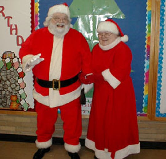 Martin Linskey and his wife, the late Jackie Linskey, portrayed Santa and Mrs. Claus for 31 years.