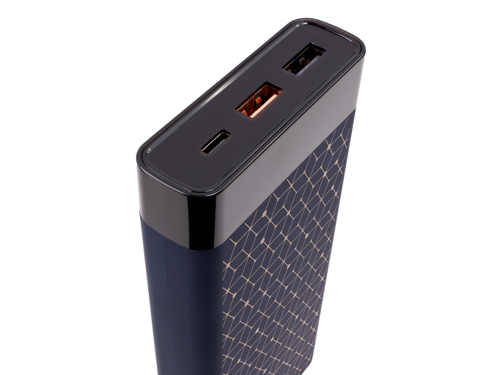 Coal Catalyst Portable Charger, $55. Charges MicroUSB, Lightning and USB 3.0 devices.