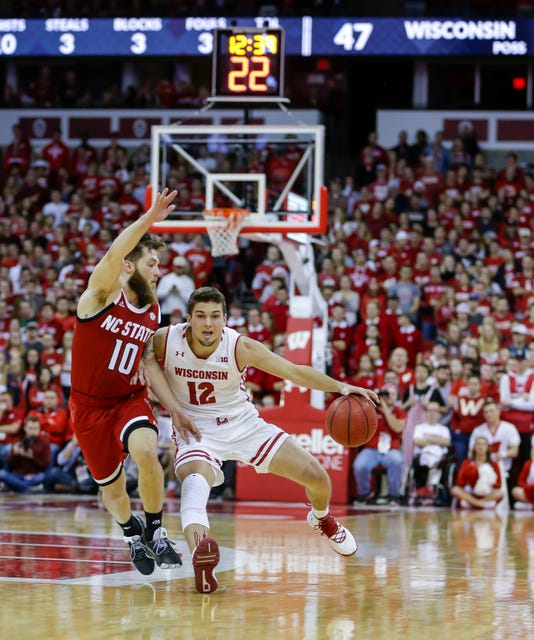 Ap Nc State Wisconsin Basketball 1