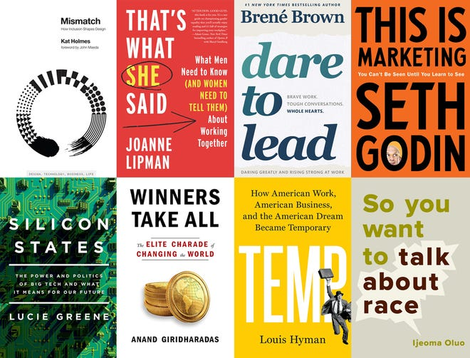 Milwaukee's 800-CEO-READ has named eight finalists for its annual Business Book of the Year Award.