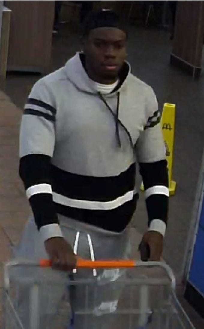 Police are searching for this man in connection to several credit card fraud cases.