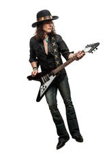 Blues rocker Anthony Gomes will perform Friday at the Thirsty Turtle in Millbrook.