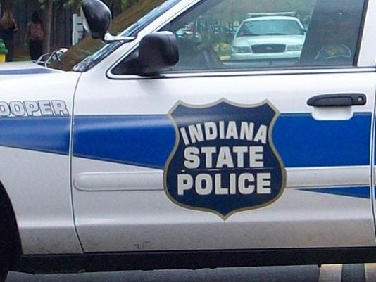 Indiana State Police car