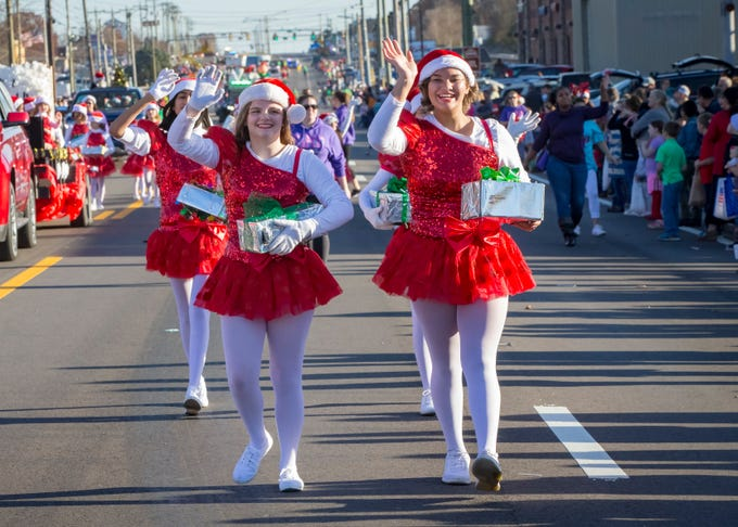 Smyrna's 44th annual Christmas parade was held Sunday, Dec. 2, 2018.