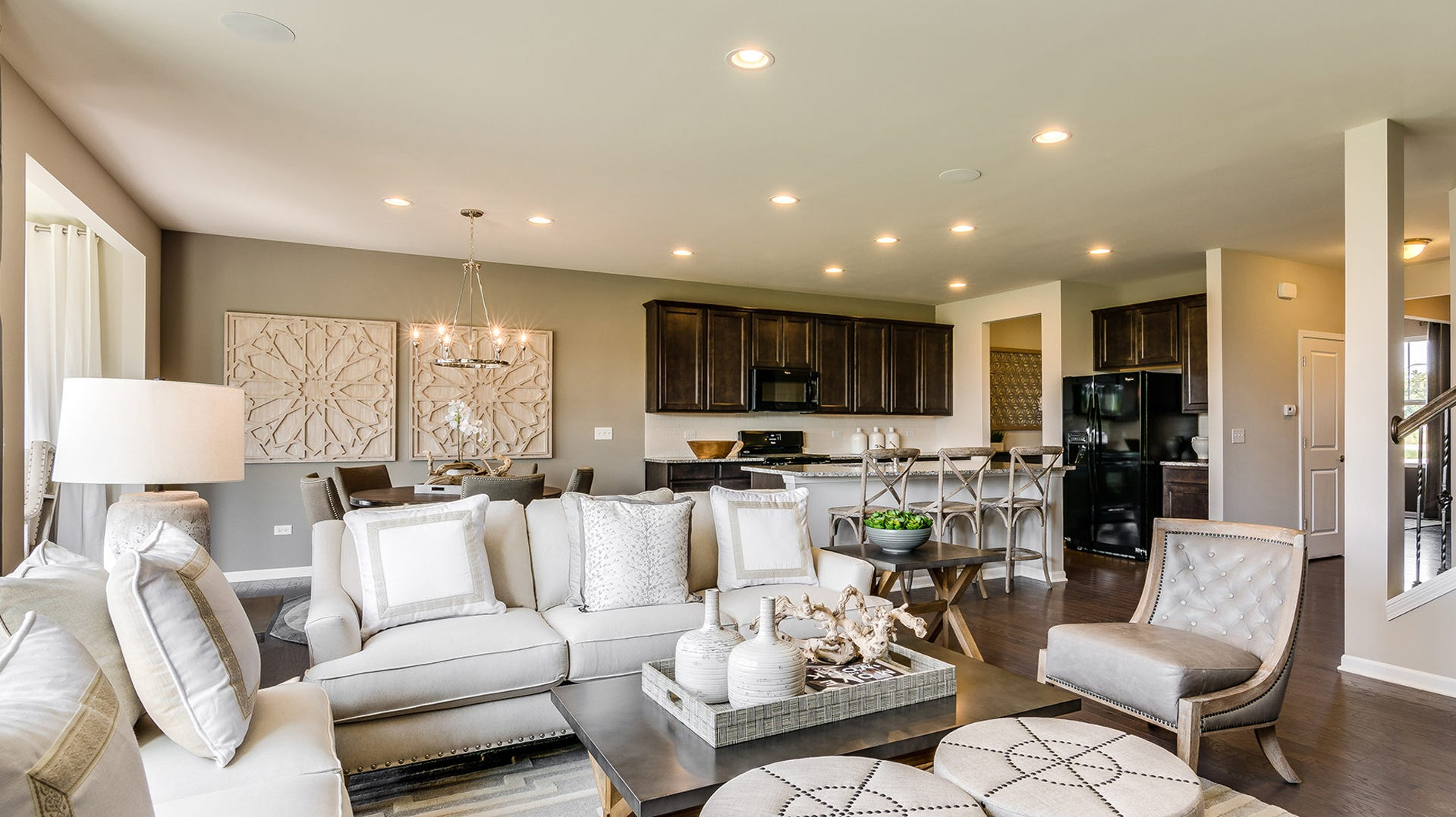 Pulte's homes in Norman Creek range from 2,300 to more than 2,800 square feet of living space.