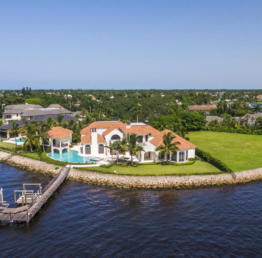 Waterfront mansion in Port Royal sells for $14.95 million
