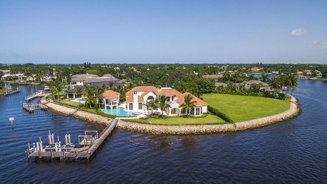 This Port Royal waterfront mansion in Naples sold for $14.95 million in November.