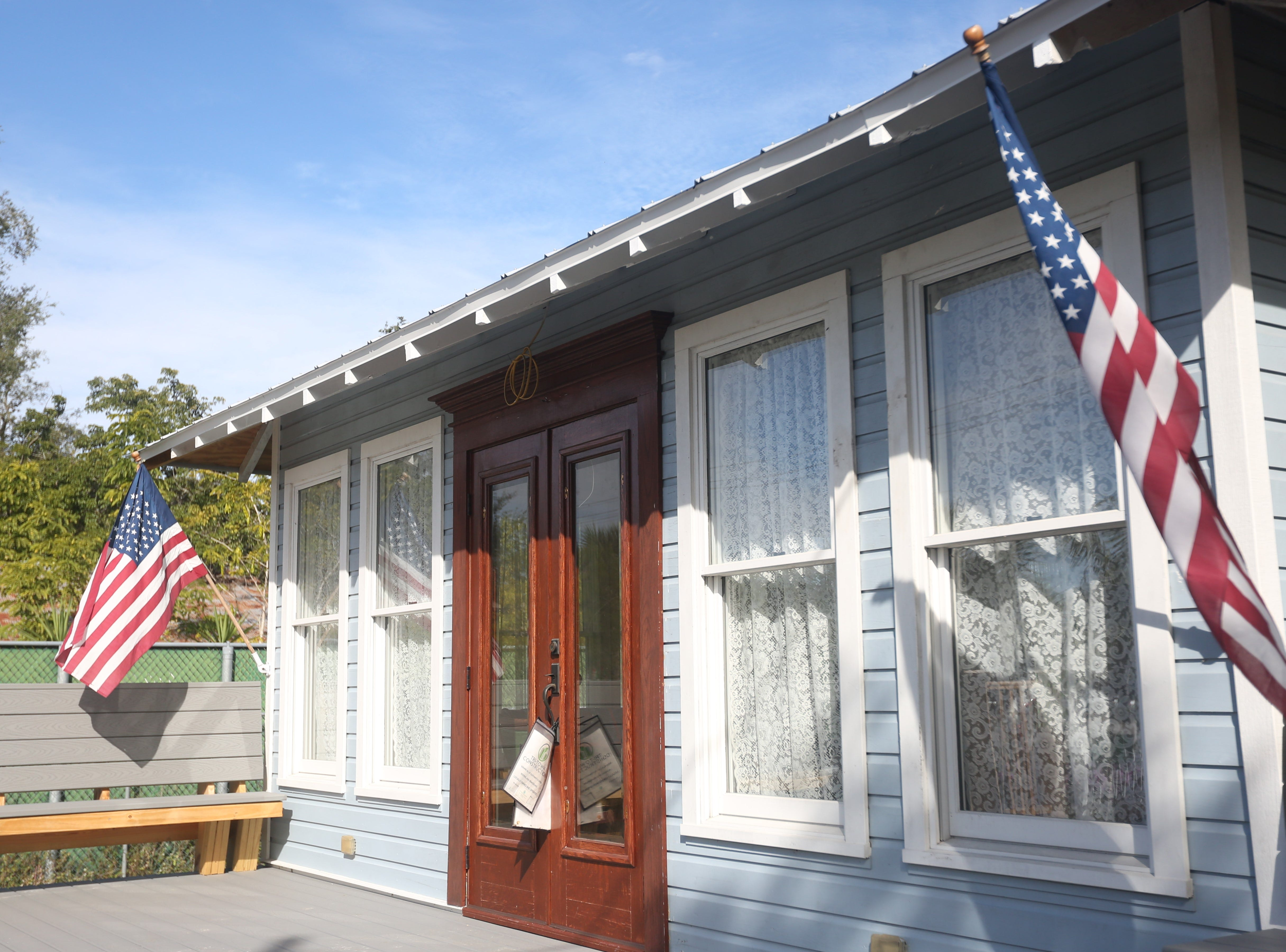 Renovations on the century-old McSwain House in downtown Bonita Springs are nearly finished after more than a year of work.
