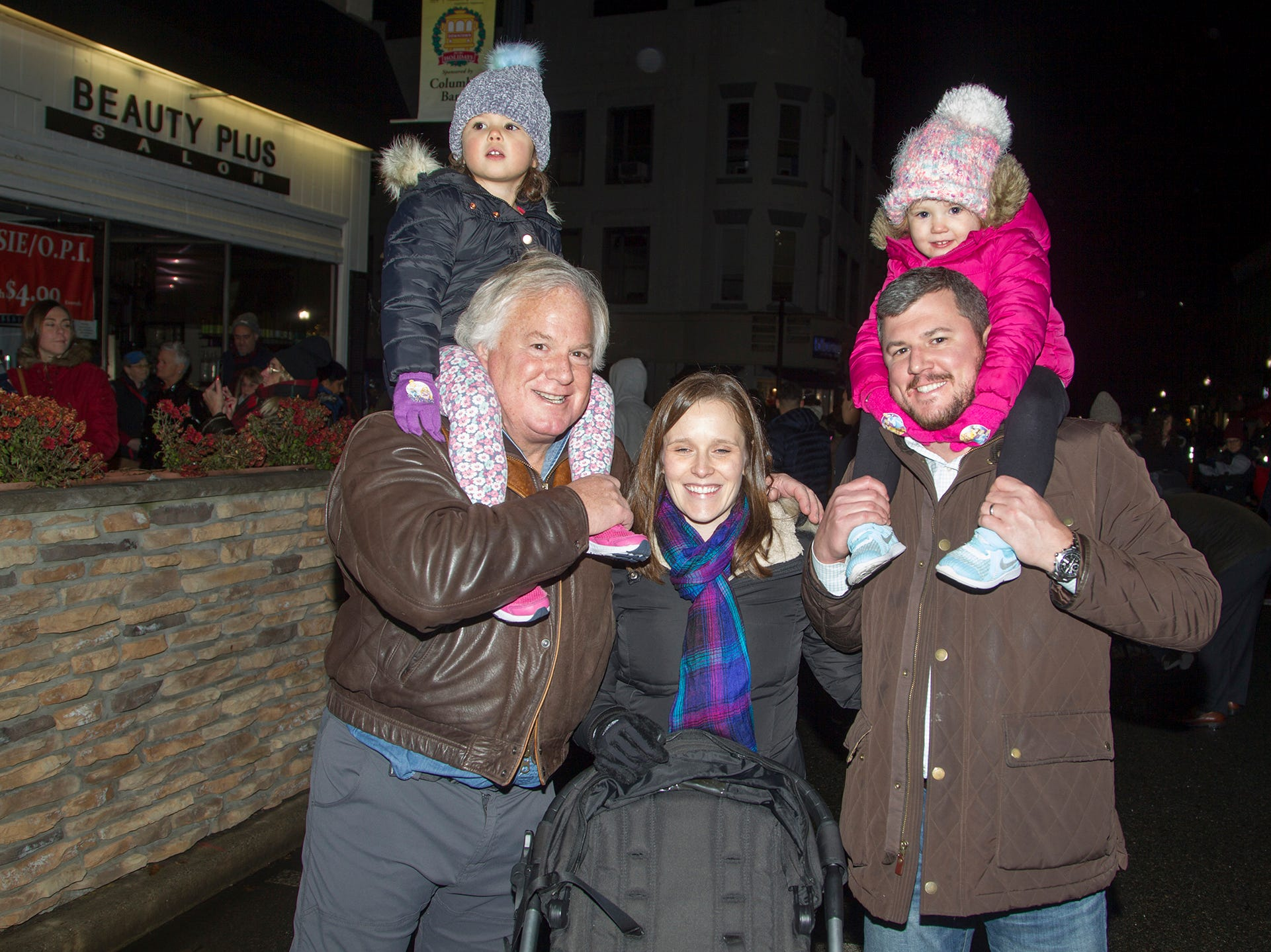 The Welsch Family. Ridgewood Chamber held its 33rd annual Downtown For The Holidays. 11/30/2018