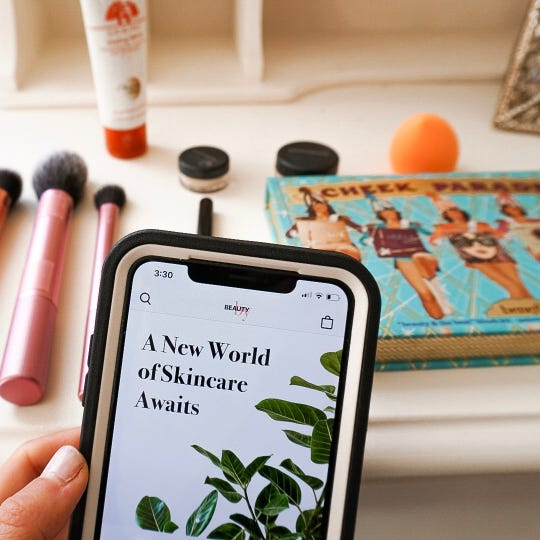 "Michele Weinstein, the creator of ""A Fit and Fabulous Michele,"" says her blog is a mixture of fashion, fitness, food and home decor projects. She considers it a ""mini magazine."""