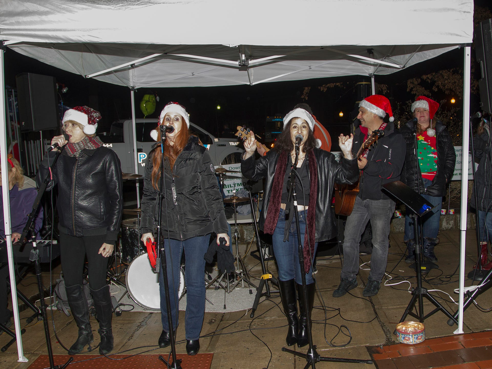 Musical Band. Ridgewood Chamber held its 33rd annual Downtown For The Holidays. 11/30/2018