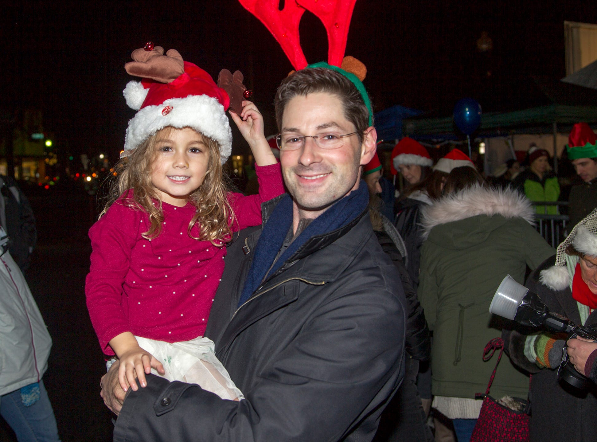Jordan and Colette. Ridgewood Chamber held its 33rd annual Downtown For The Holidays. 11/30/2018