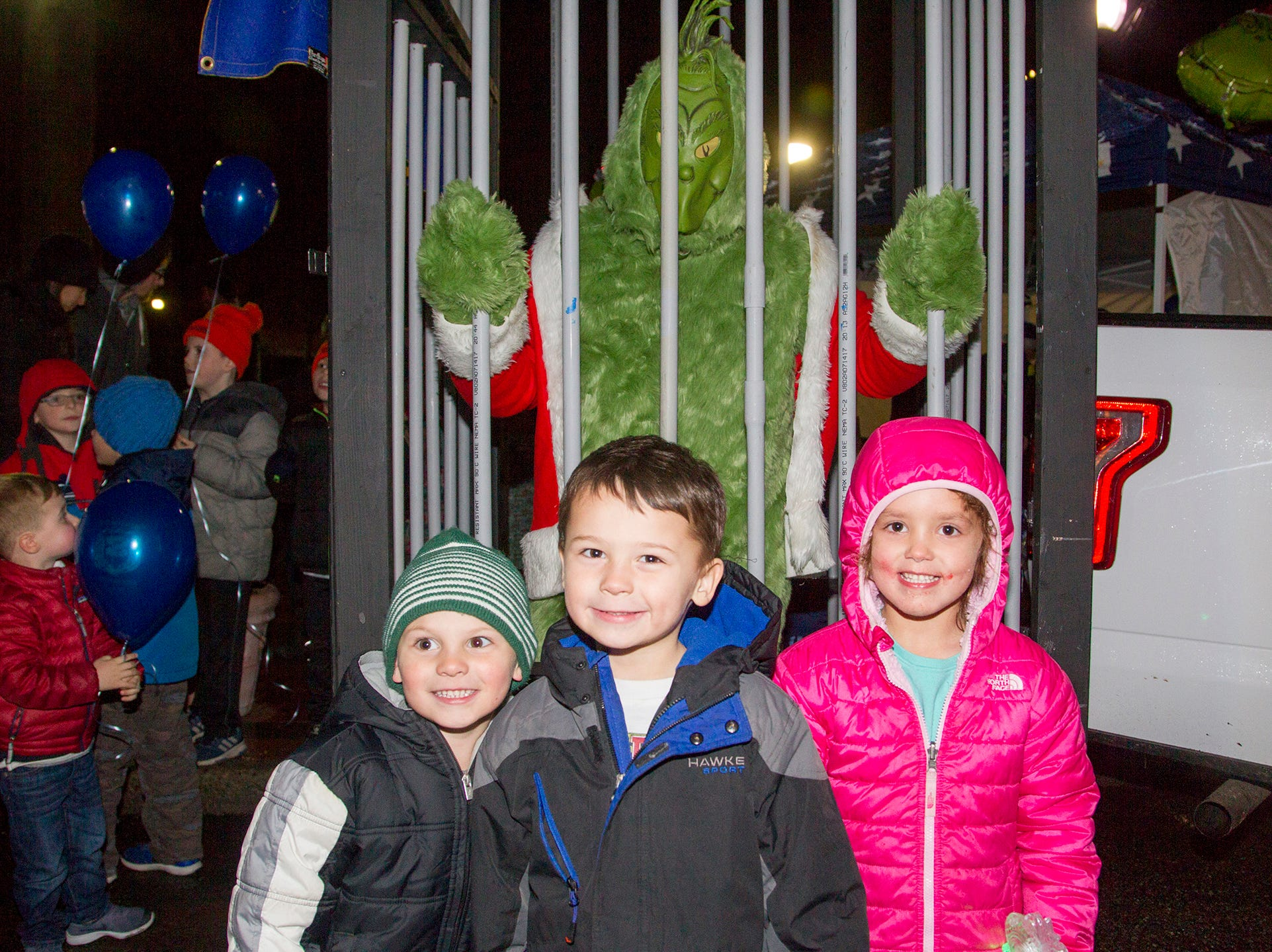 Preston, Jimmy, Samantha. Ridgewood Chamber held its 33rd annual Downtown For The Holidays. 11/30/2018