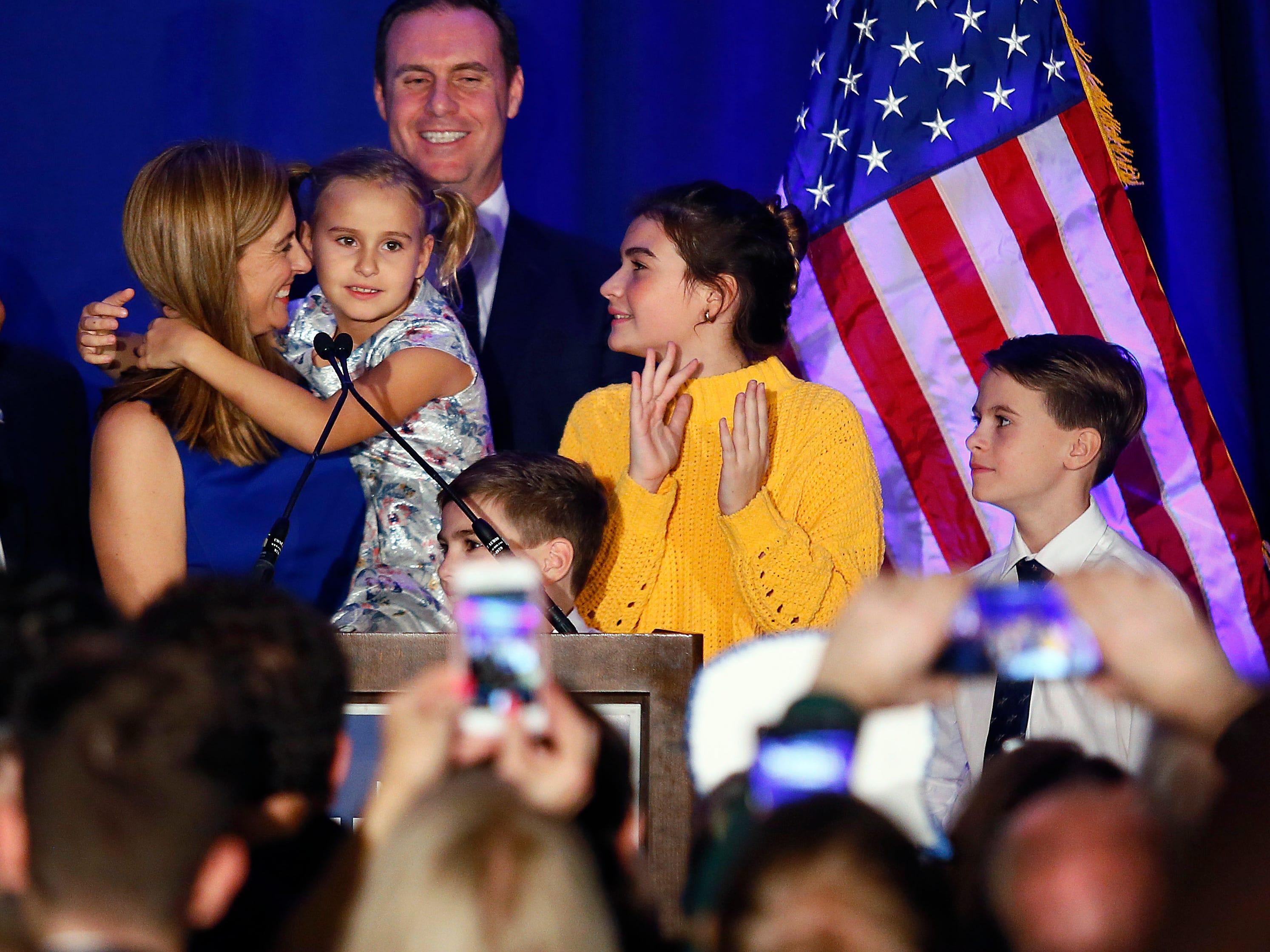 Meet Mikie Sherrill: Balancing voters, 4 kids, gun control, marijuana and Trump