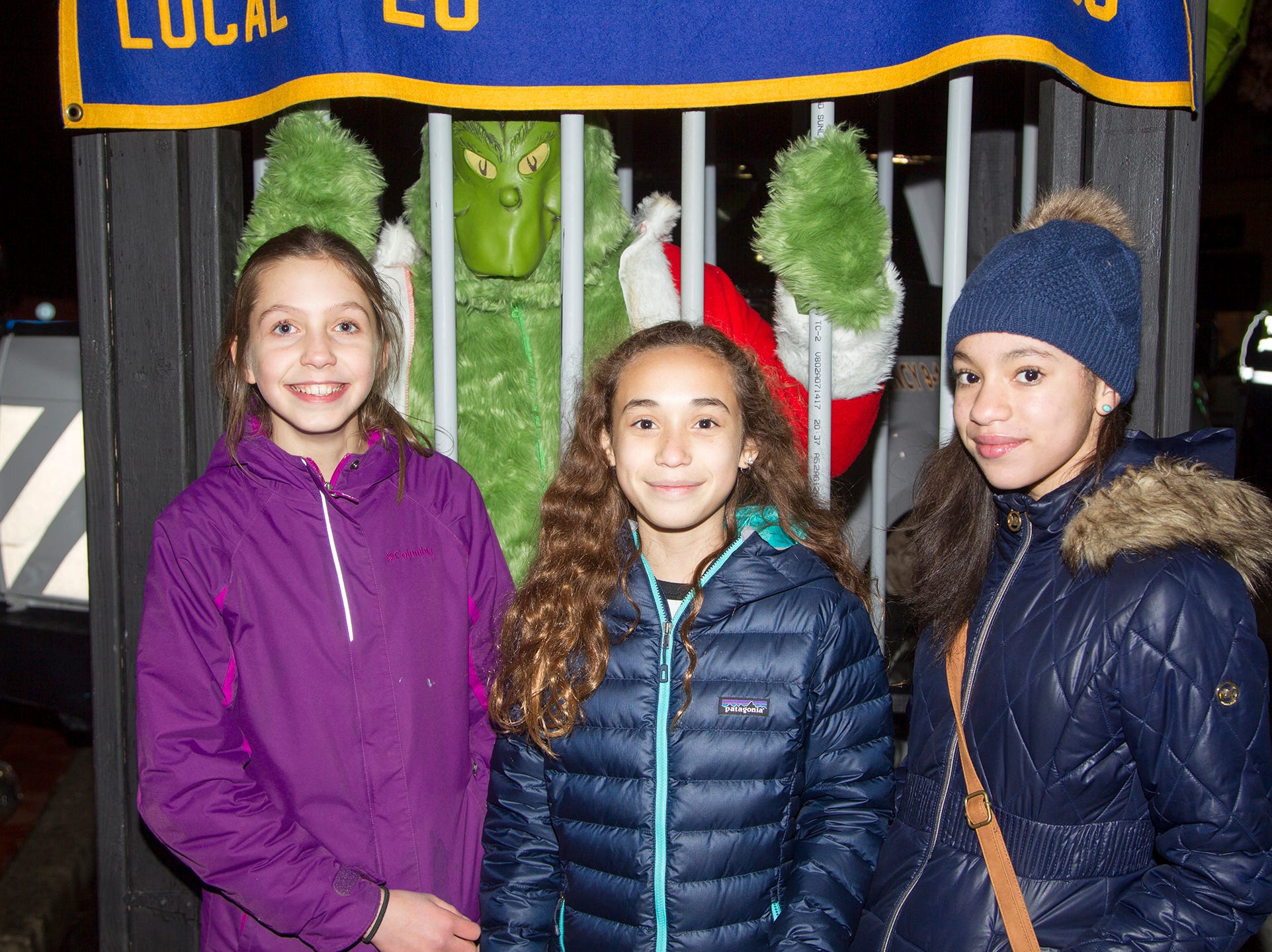 Kayla, Callie, Rachel.Ridgewood Chamber held its 33rd annual Downtown For The Holidays. 11/30/2018