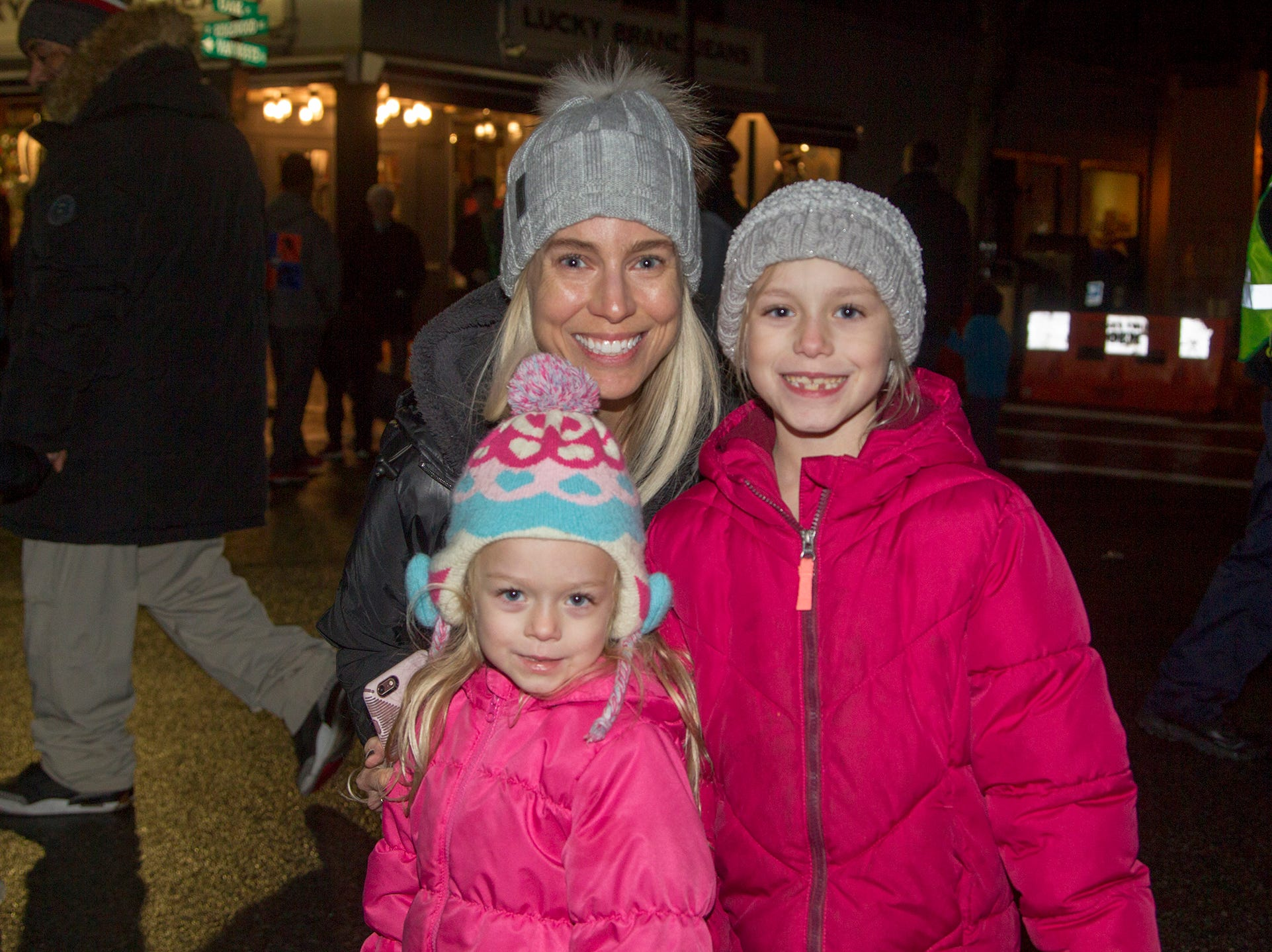 Christine, Kennedy, Reagan. Ridgewood Chamber held its 33rd annual Downtown For The Holidays. 11/30/2018