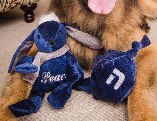 Hanukkah toys by HuggleHound