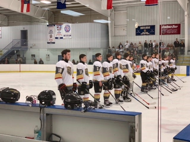 The West Milford/Pequannock ice hockey team won their season opener last week over Ramapo. The new co-op team is comprised of West Milford and Pequannock High School players.