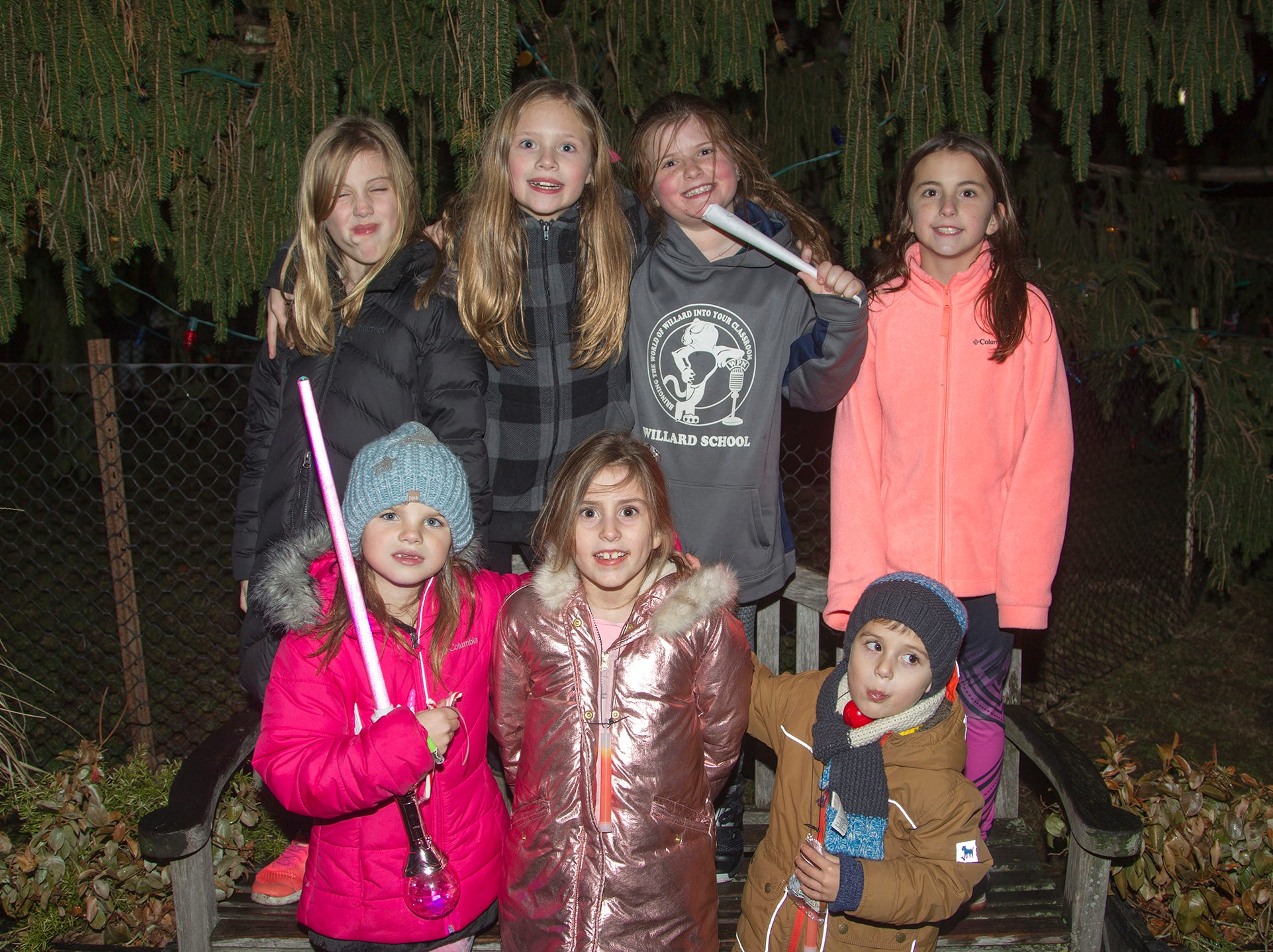 Hailey, Taylor, Jake, Kellyanne, Lily, Christine, Gabriella. Ridgewood Chamber held its 33rd annual Downtown For The Holidays. 11/30/2018