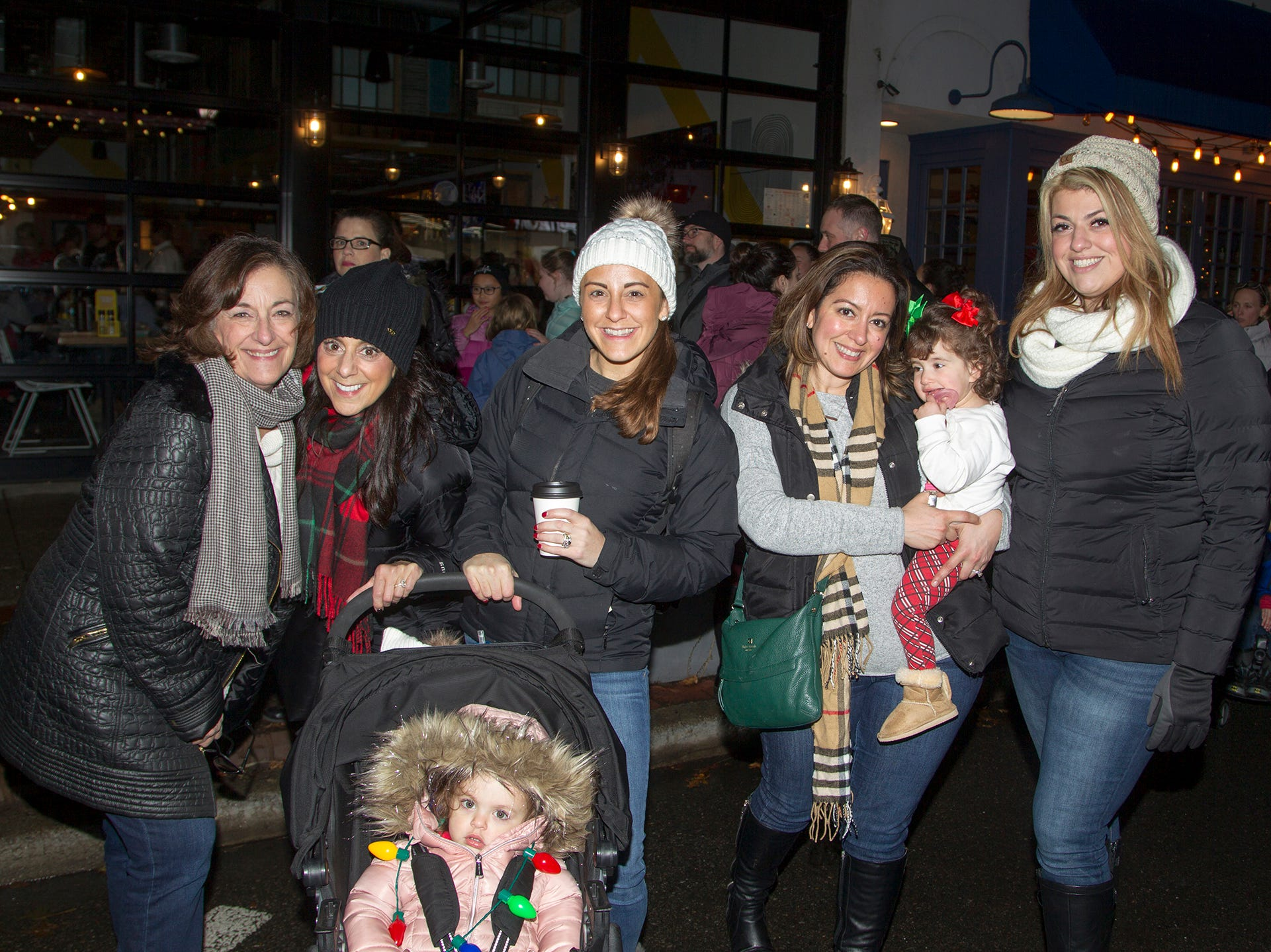Jenn, Mellisa, Nick, Lous, Linda, Adrianna, Isabella. Ridgewood Chamber held its 33rd annual Downtown For The Holidays. 11/30/2018