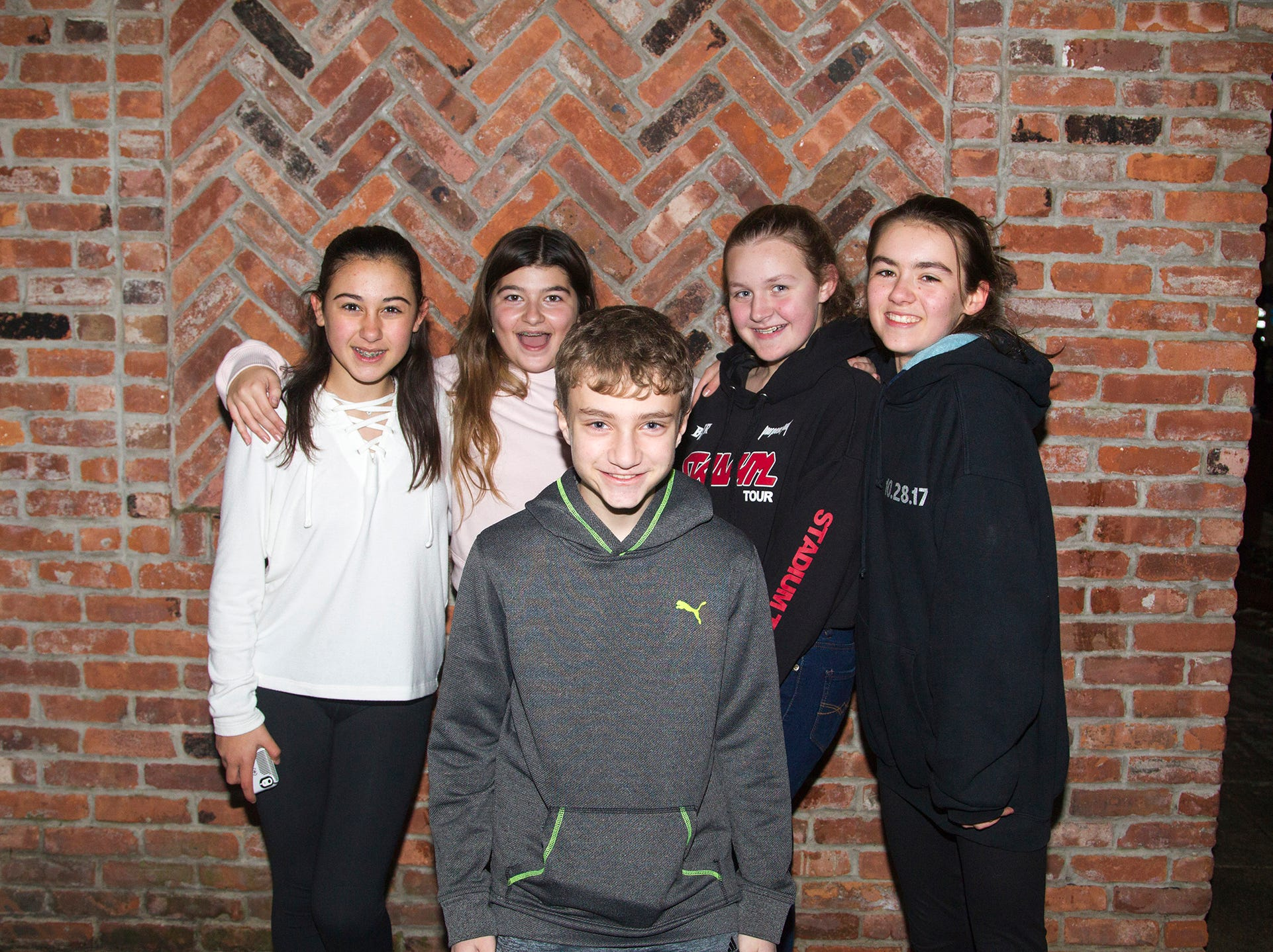 Dakota Fuchs, Sammi McPadtan, Harry Linkel, Ava Leonarz, Maria Walsh. Ridgewood Chamber held its 33rd annual Downtown For The Holidays. 11/30/2018