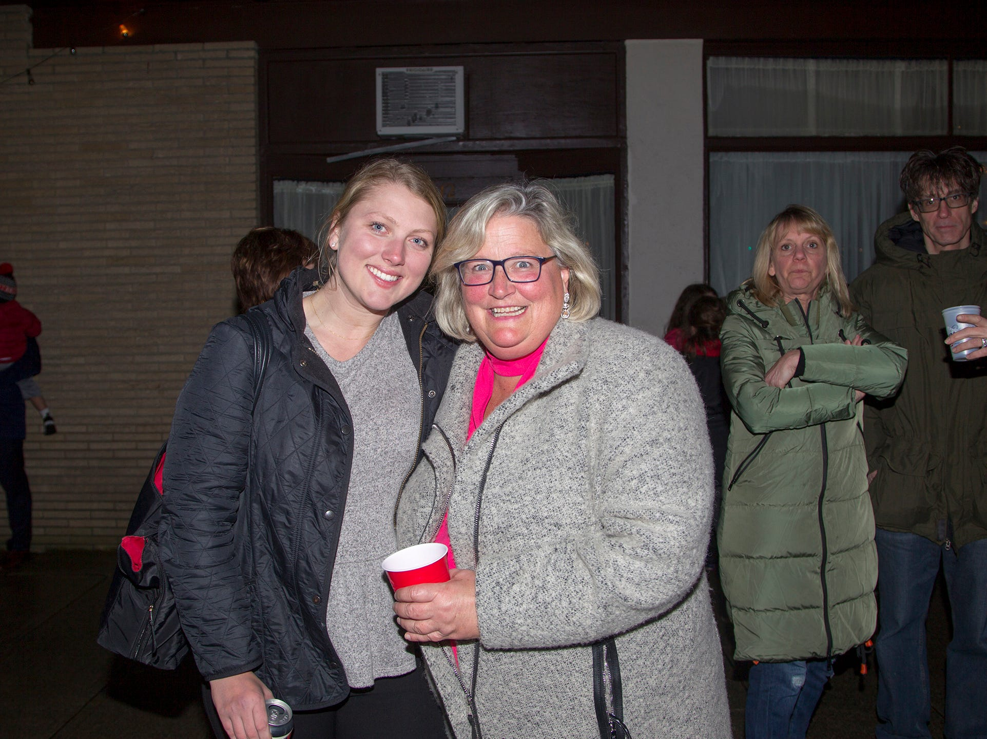 Alexandra Hnat, Leigh Warren. Ridgewood Chamber held its 33rd annual Downtown For The Holidays. 11/30/2018