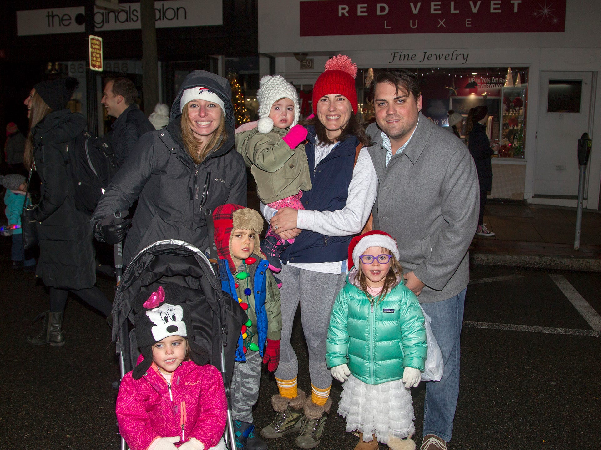 The hayes and Tierney families. Ridgewood Chamber held its 33rd annual Downtown For The Holidays. 11/30/2018