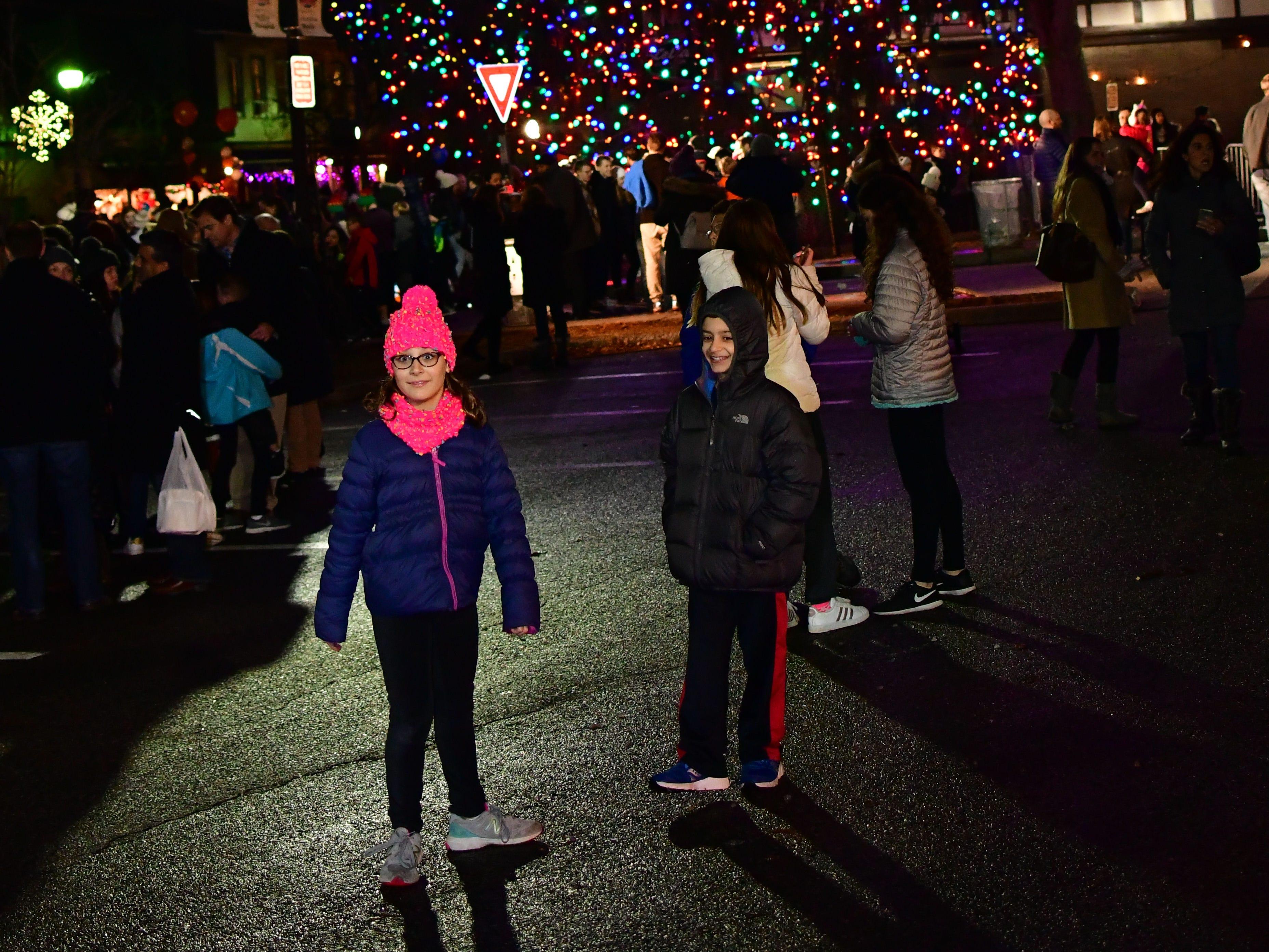 Holiday festivities along East Ridgewood Avenue in Ridgewood on Nov. 30.