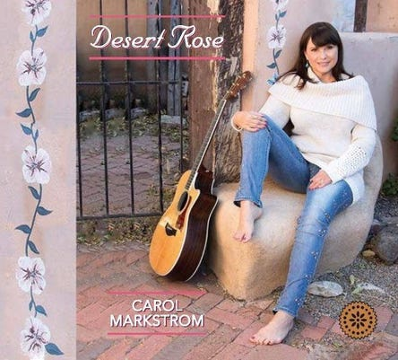 Carol Markstrom Desert Rose