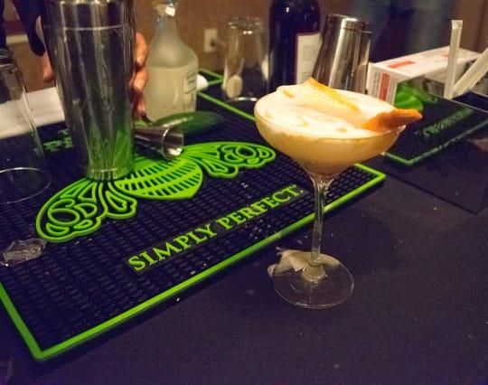Rhiannon Hardin's winning cocktail blended flavors like pineapple, elderflower, grapefruit and jalapeño.