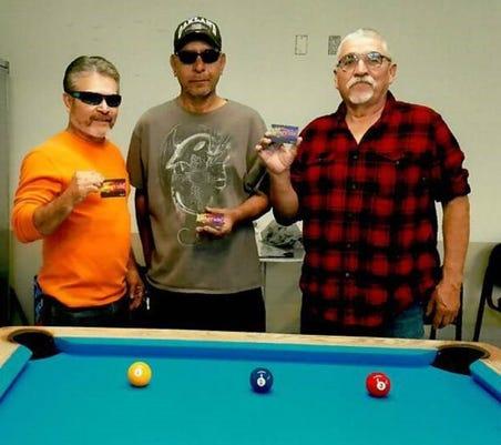 Nov Billiards Winners