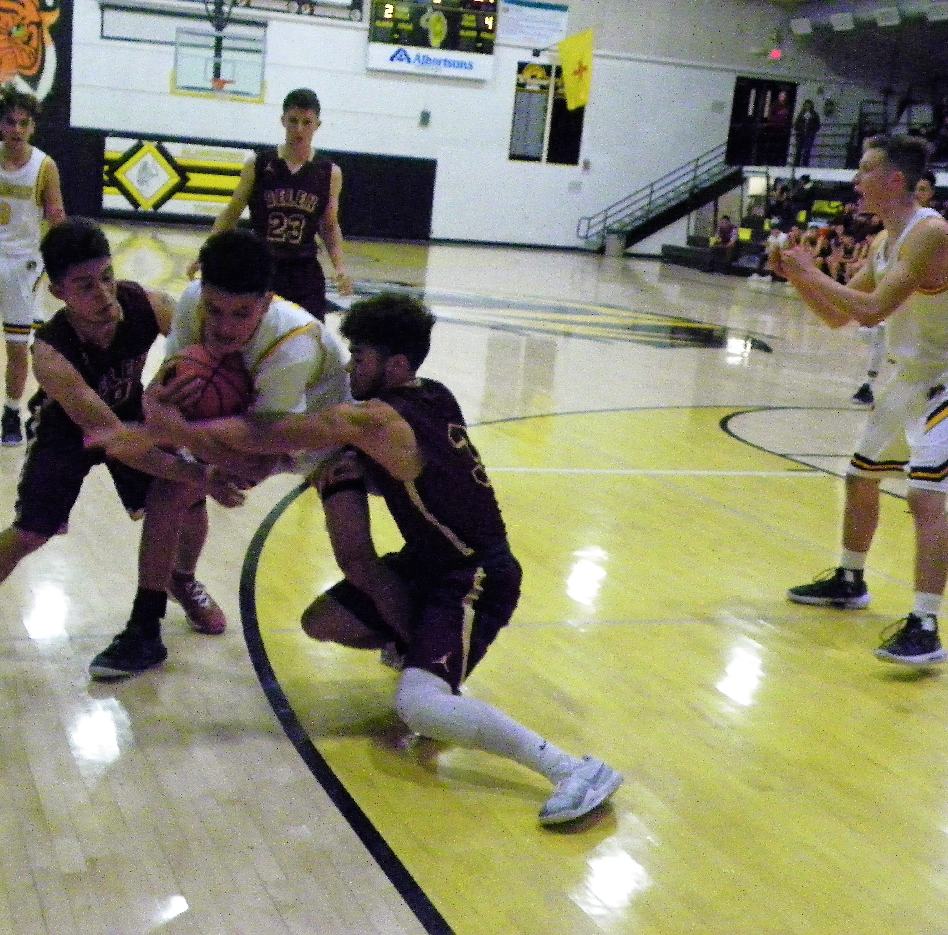 Though the Alamogordo Tigers ultimately lost to Belen Eagles in the first game of the season, head coach James Voight said the young team is eager to fight.