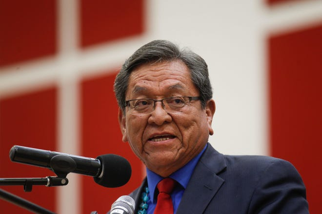 Navajo Nation President Russell Begaye signed into law changes to the required number of signatures needed to recall elected officials.