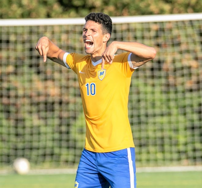 Madonna forward Yuri Farkas finished with a team-best 25 goals this season for the NAIA semifinalists.
