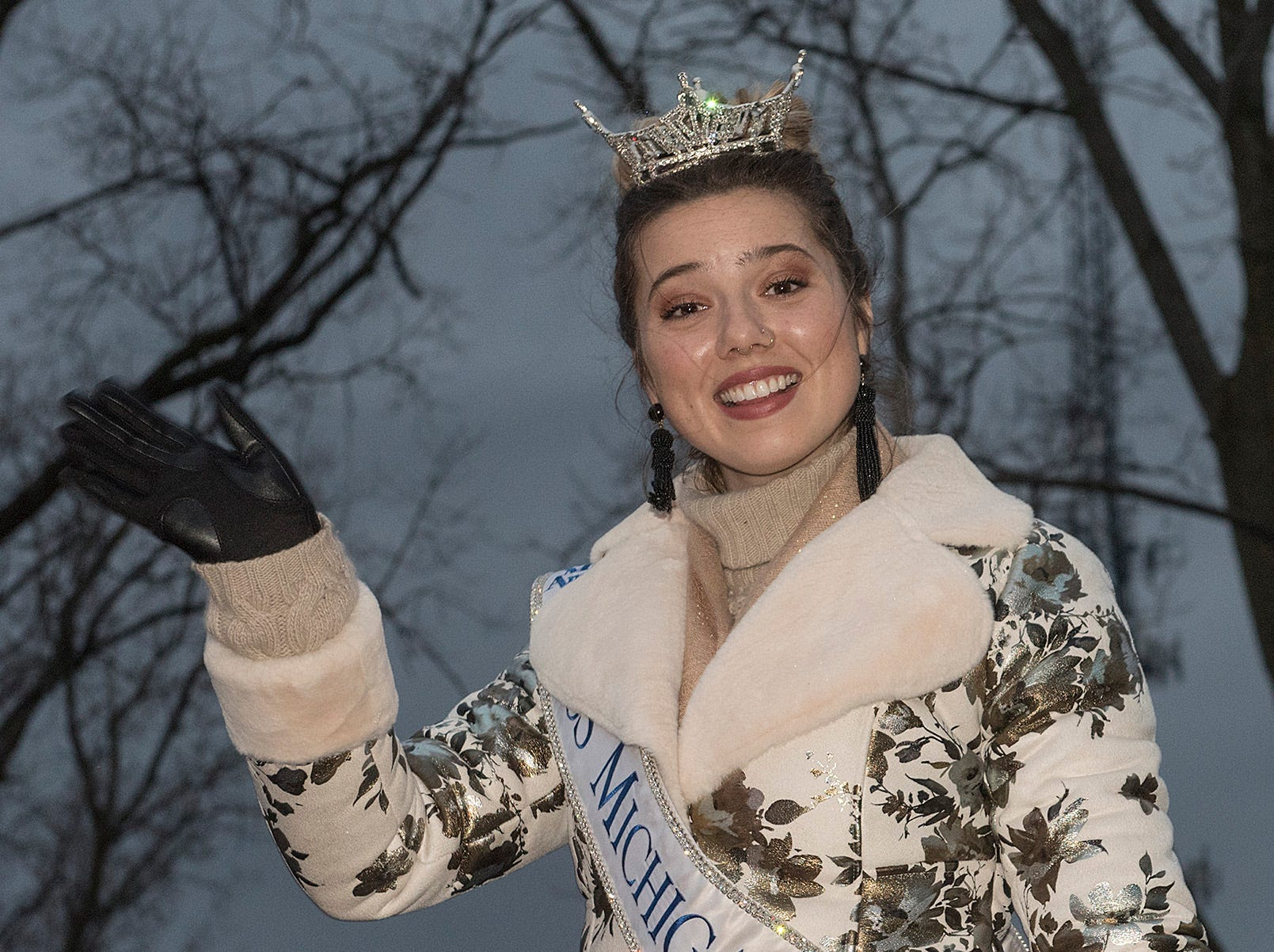 Emily Sioma is Miss Michigan.