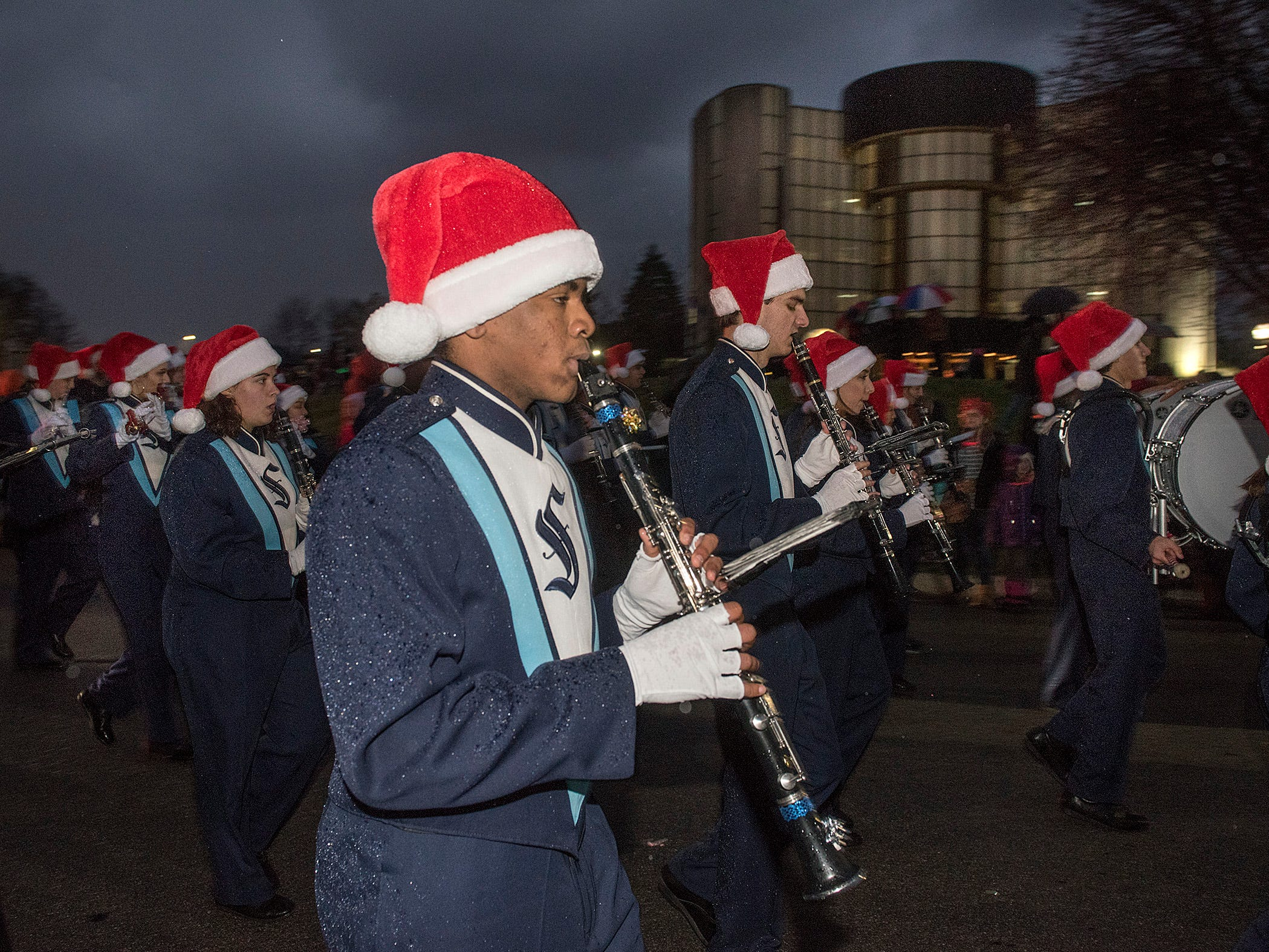 Stevenson Marching Band.