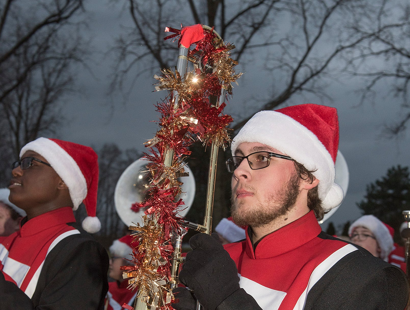 Franklin Marching Band.