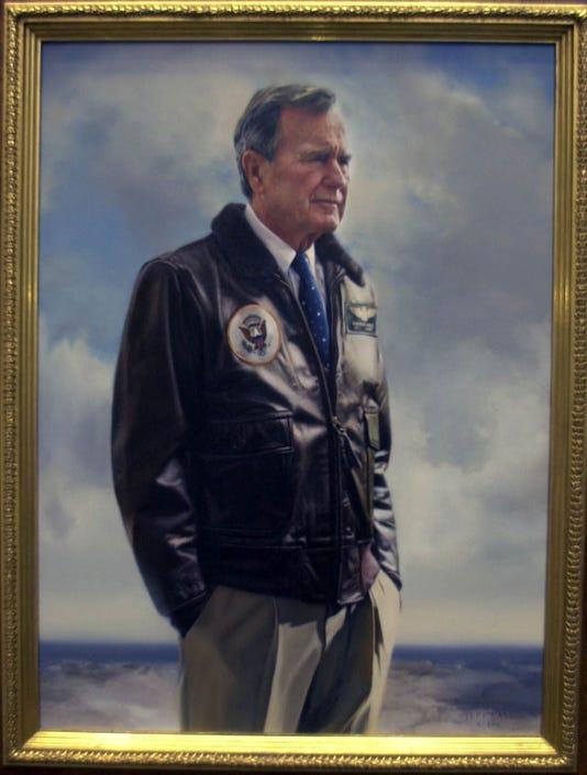 Bush portrait