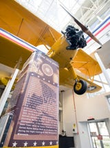 Pensacola's National Naval Aviation Museum exhibits Pres. (then cadet) George H.W. Bush airplane