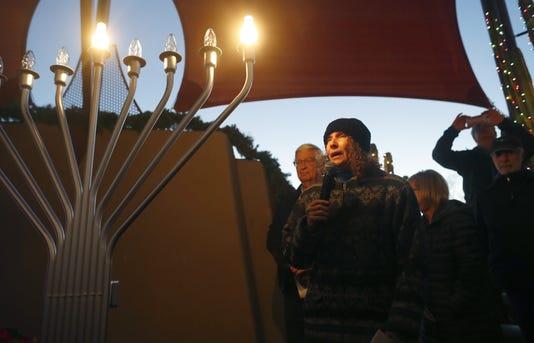 Hanukkah at Carefree Desert Gardens