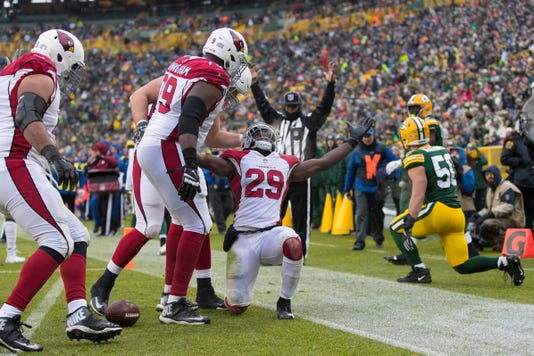 Nfl Arizona Cardinals At Green Bay Packers