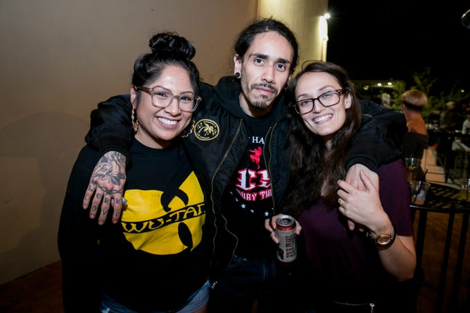 These pals celebrated Wu-Tang during Old School - 90's Hip Hop Dance Party at The Van Buren on Friday, November 30, 2018.