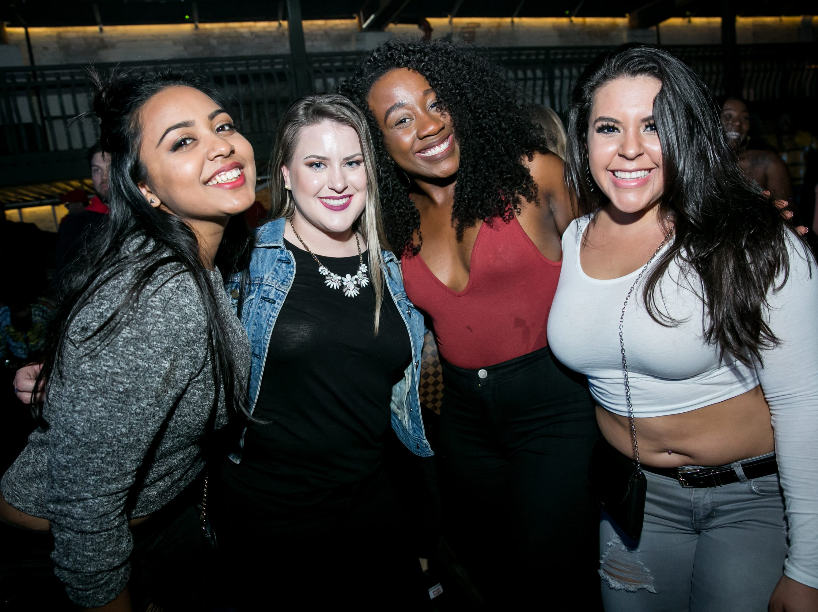 These fashionable ladies had a blast during Old School - 90's Hip Hop Dance Party at The Van Buren on Friday, November 30, 2018.