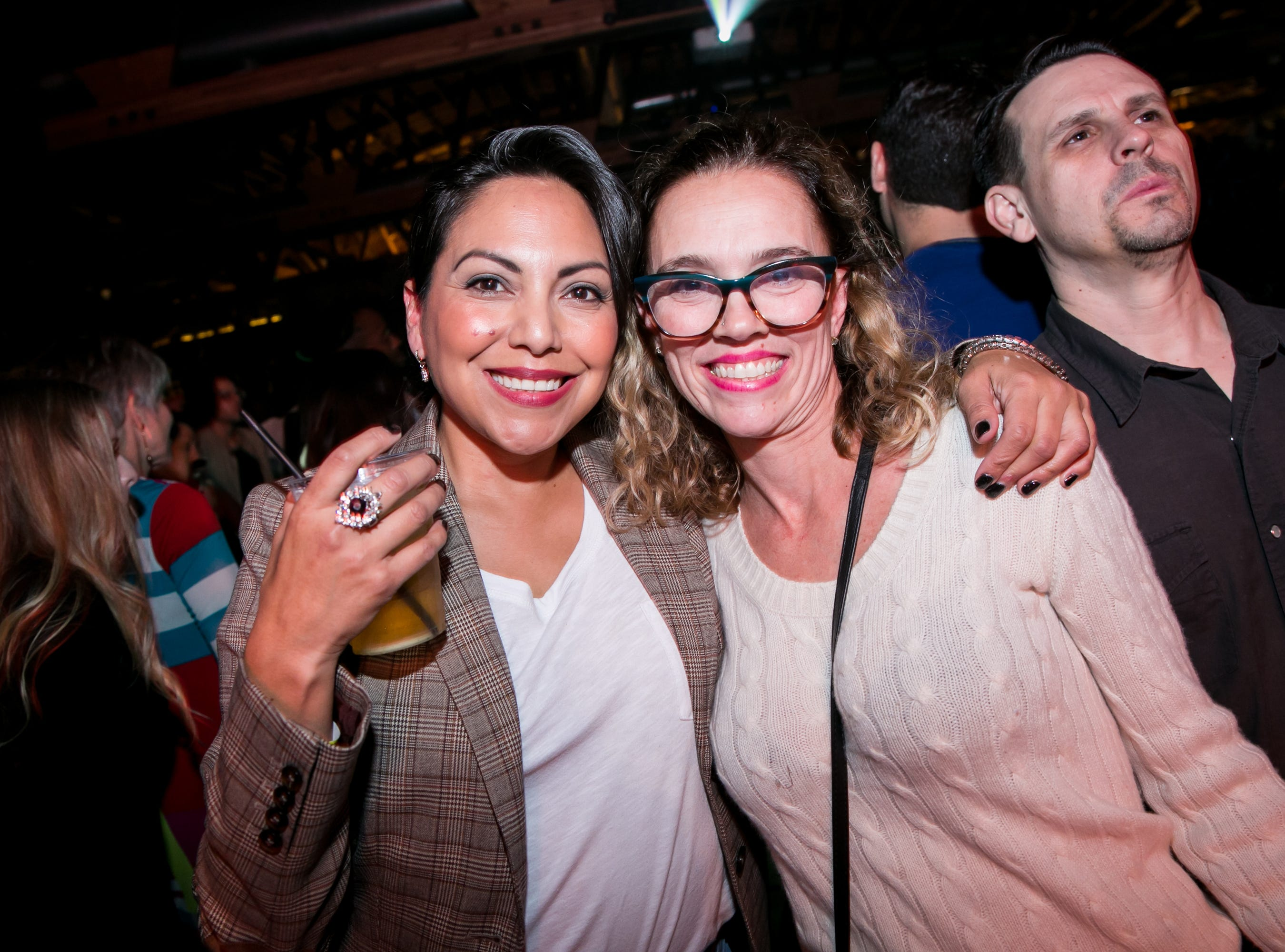These two looked lovely during Old School - 90's Hip Hop Dance Party at The Van Buren on Friday, November 30, 2018.