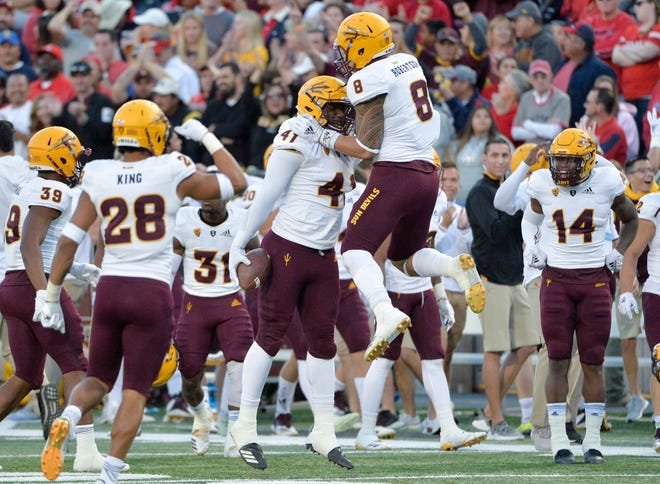 Can the ASU football team beat Fresno State in the Las Vegas Bowl? Check out the projections and picks for the college football bowl game.