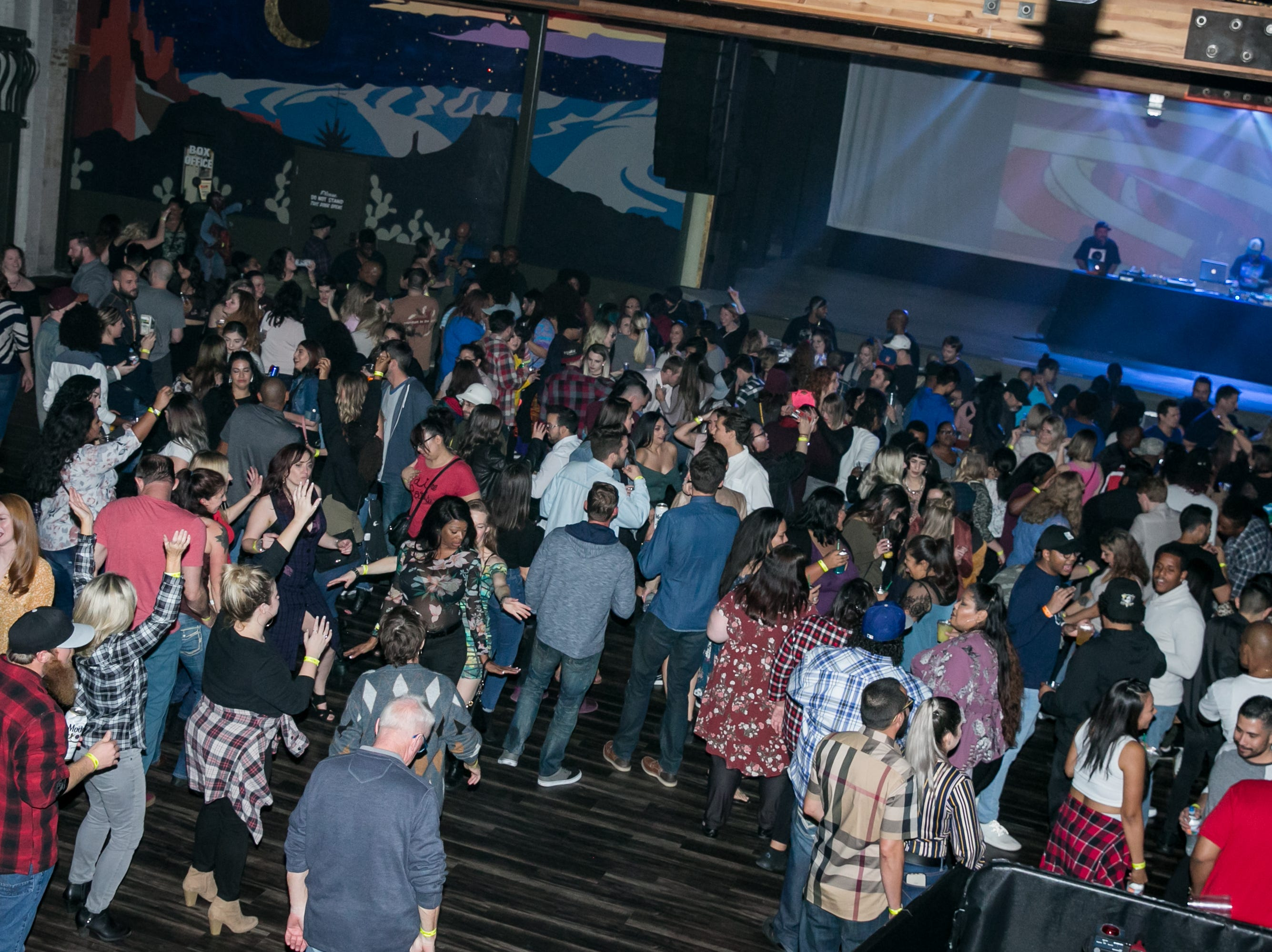 Everyone had a great time during Old School - 90's Hip Hop Dance Party at The Van Buren on Friday, November 30, 2018.