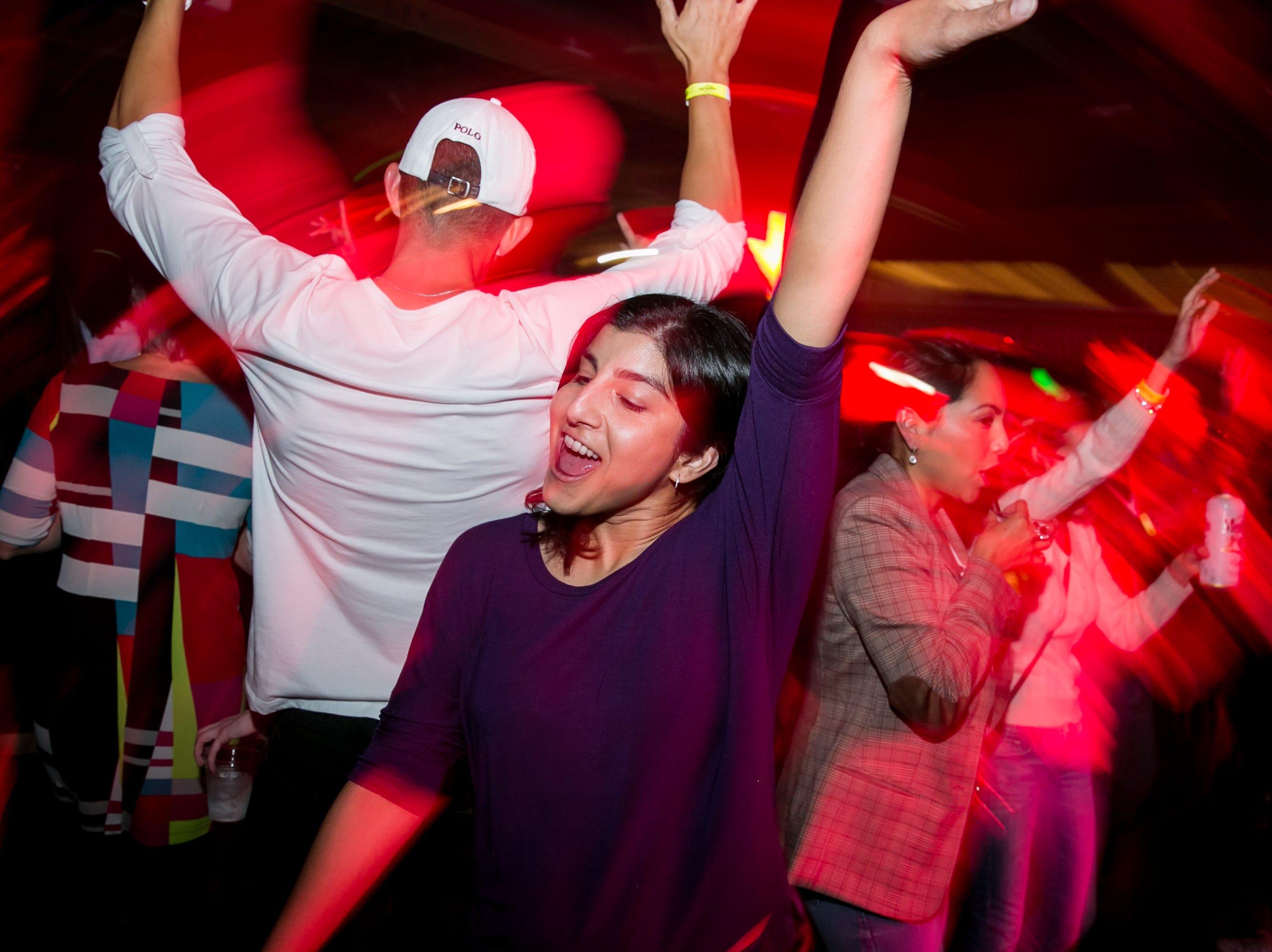 Everyone had fun dancing during Old School - 90's Hip Hop Dance Party at The Van Buren on Friday, November 30, 2018.