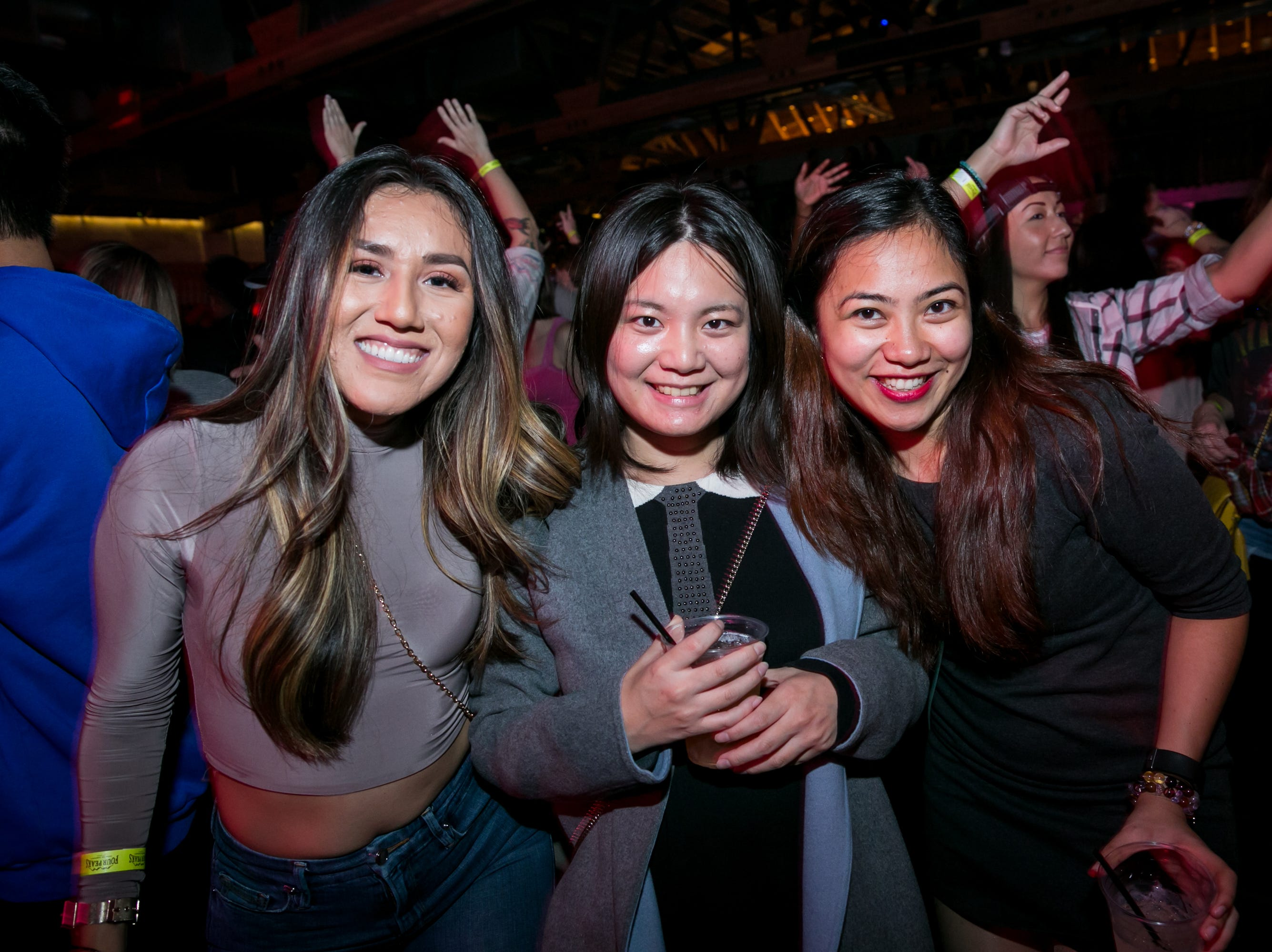 These ladies had a blast dancing during Old School - 90's Hip Hop Dance Party at The Van Buren on Friday, November 30, 2018.